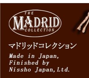マドリッドコレクションロゴマーク:Made in Saigon, Finished by Nissho Japan,Ltd.