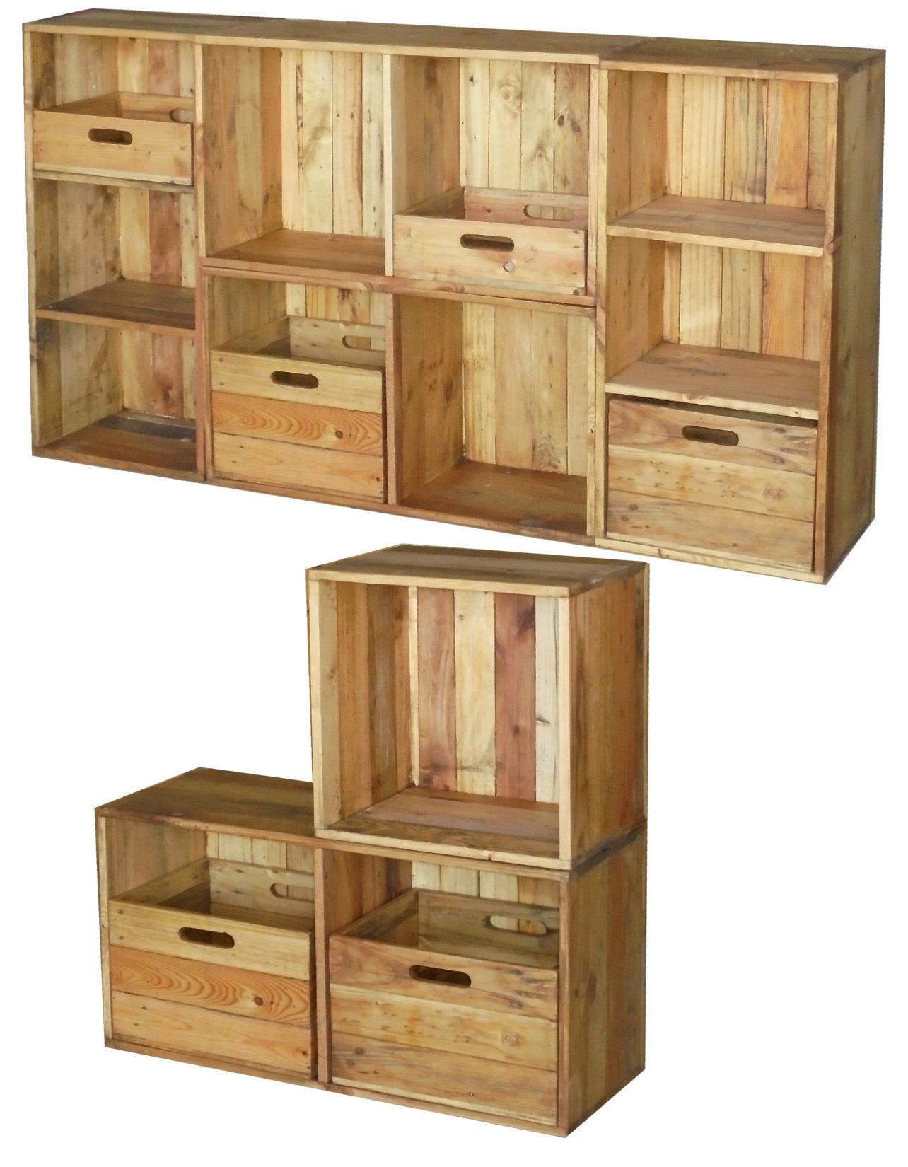カラーボックス木製イメージ