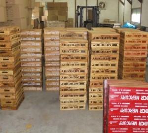 マーキュリー木箱