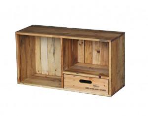 木製カラーボックスCB-2-D