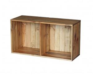 木製カラーボックスCB-2