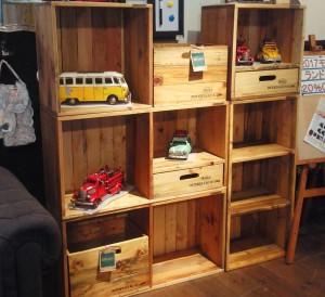 木製カラーボックス3