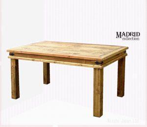 パイン材テーブルマドリッドコレクション