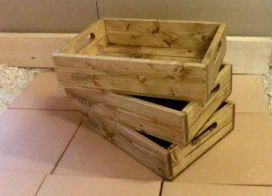 木箱 パイン材